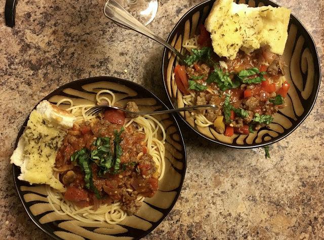 A Little Taste of Italy: Spicy Sausage Marinara Recipe